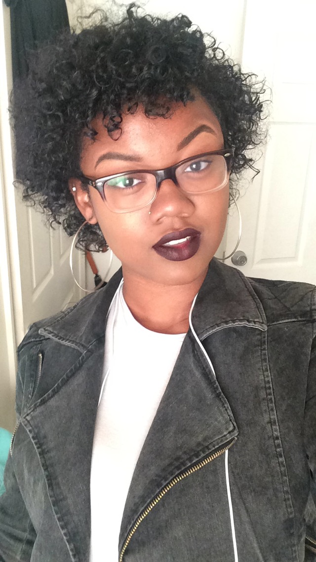 Mac's Nightmoth Liner x Nars' Train Bleu Matte Lipstick