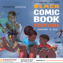 Embracing My Nerdiness at the Schomburg Black Comic Book Fest
